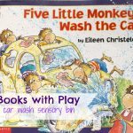 Pair Books with Play: Five Little Monkeys and a Sensory Bin