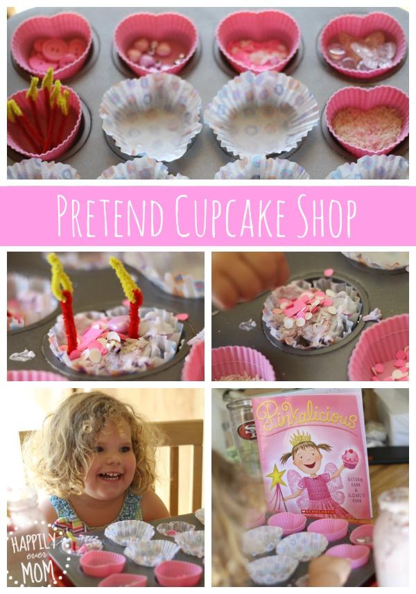 Make a cupcake shop