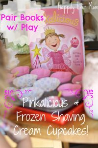 Pair books with play Pinkalicious