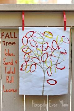 Fall tree overlay