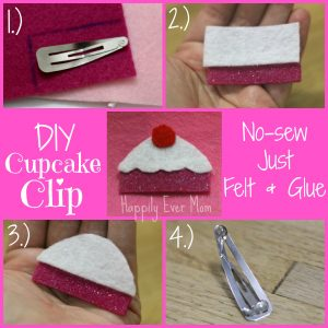 DIY Cupcake Clip for Kids