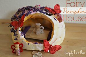 Fairy Pumpkin House from Happily Ever Mom