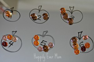 Numbers, pumpkins, and loose parts - Happily Ever Mom