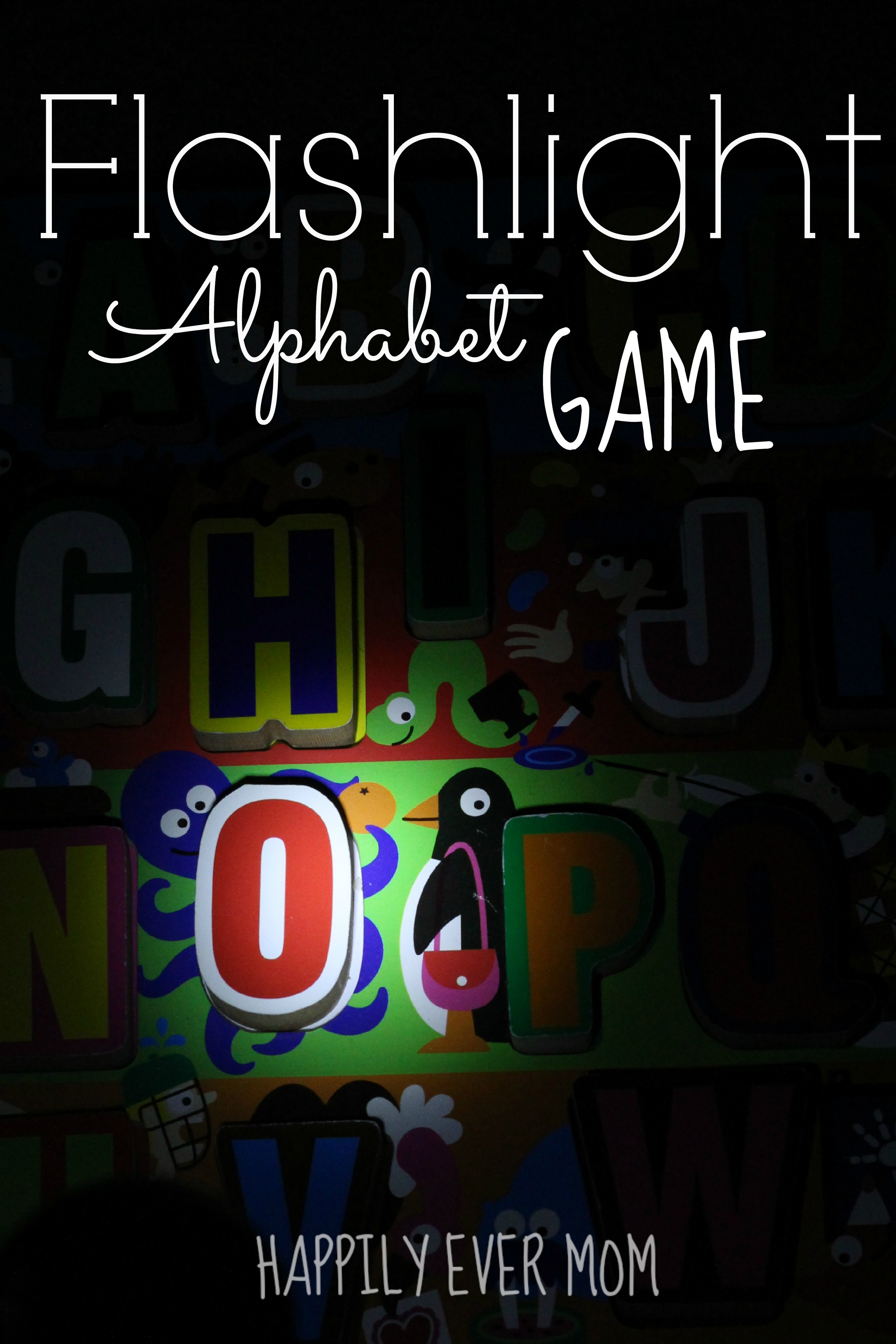 Flashlight Alphabet Game