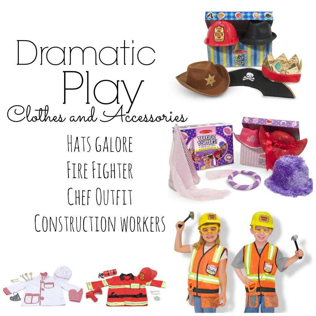 Dramatic Play clothes and accessories