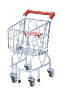 metal grocery cart