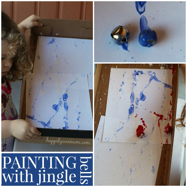 easy process art for preschoolers - perfect for winter