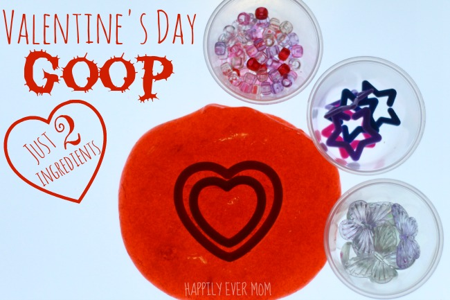 Valentine's Day Goop - just two ingredients!