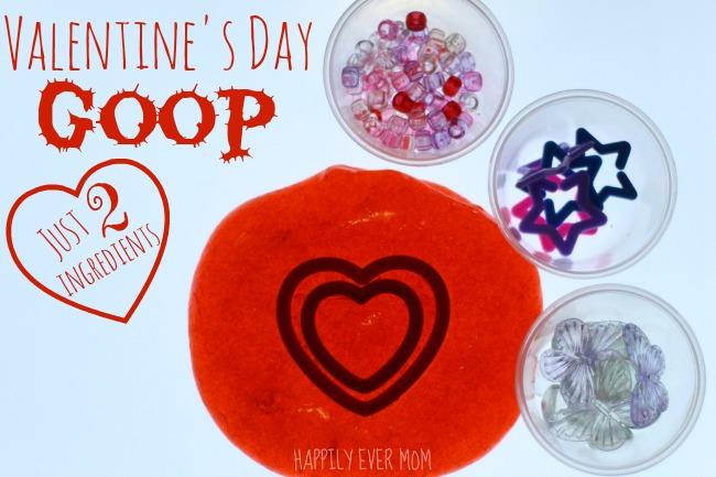 Valentine's Day Goop - just two ingredients!