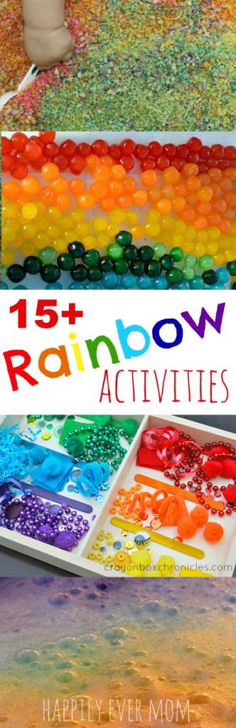 15 rainbow activities for kids of all ages!