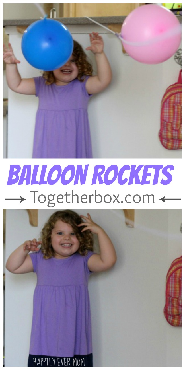 Ballon Rockets