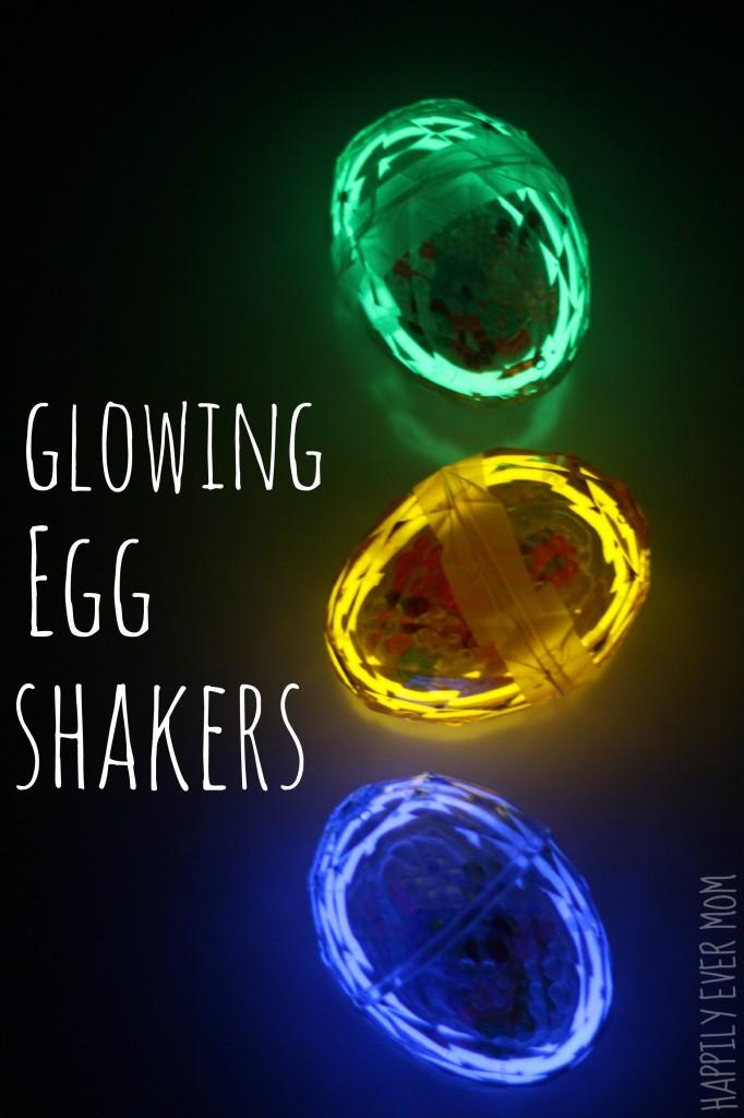 Glow in the Dark Egg Shakers