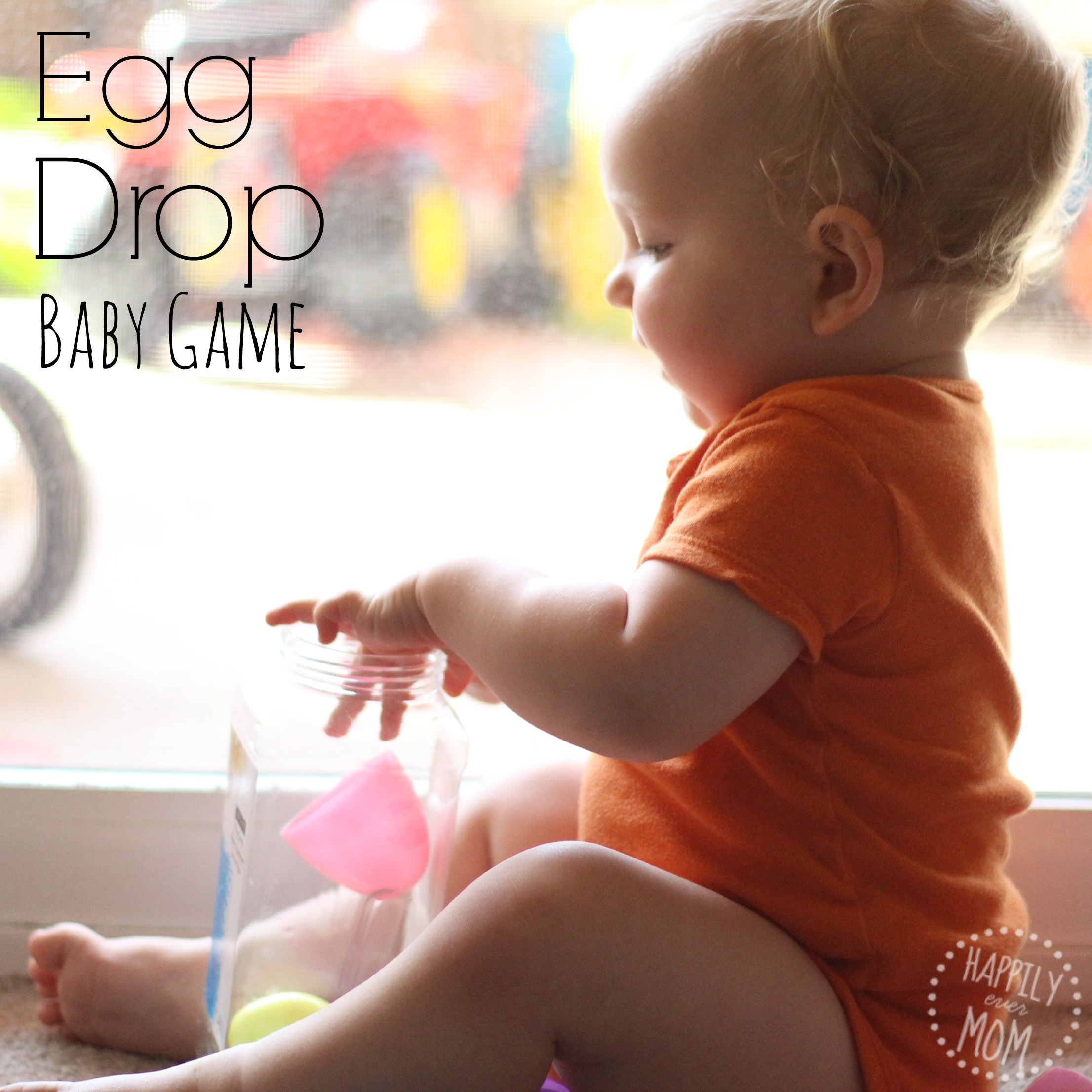Egg Drop Baby Game