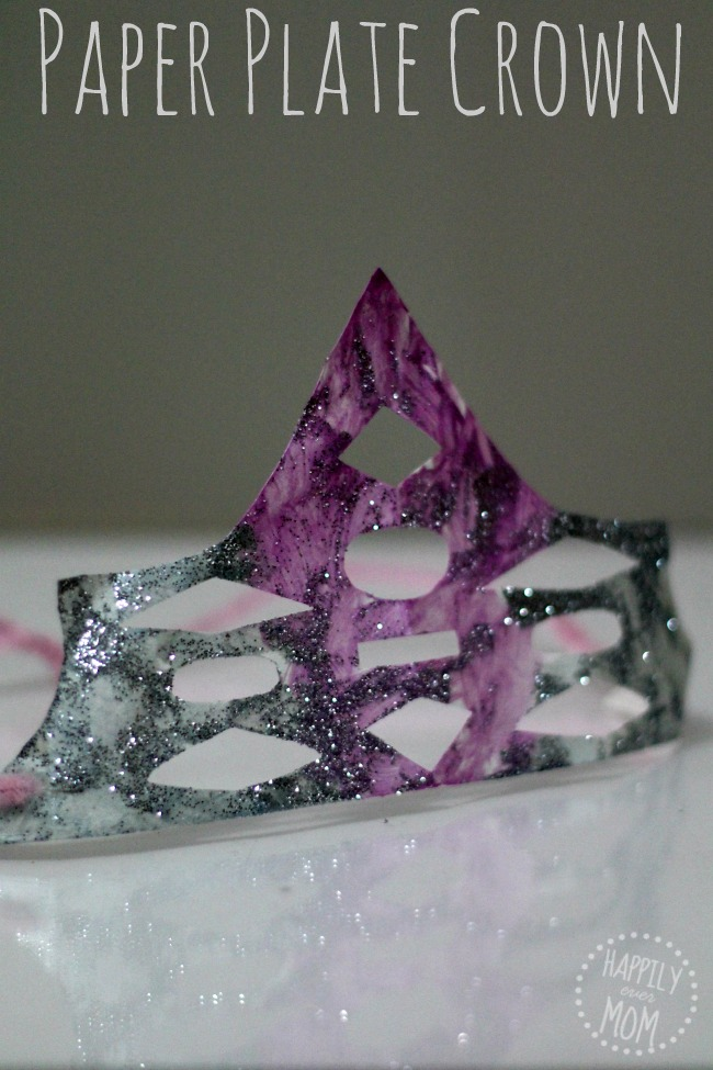 Make a snowflake princess crown easily