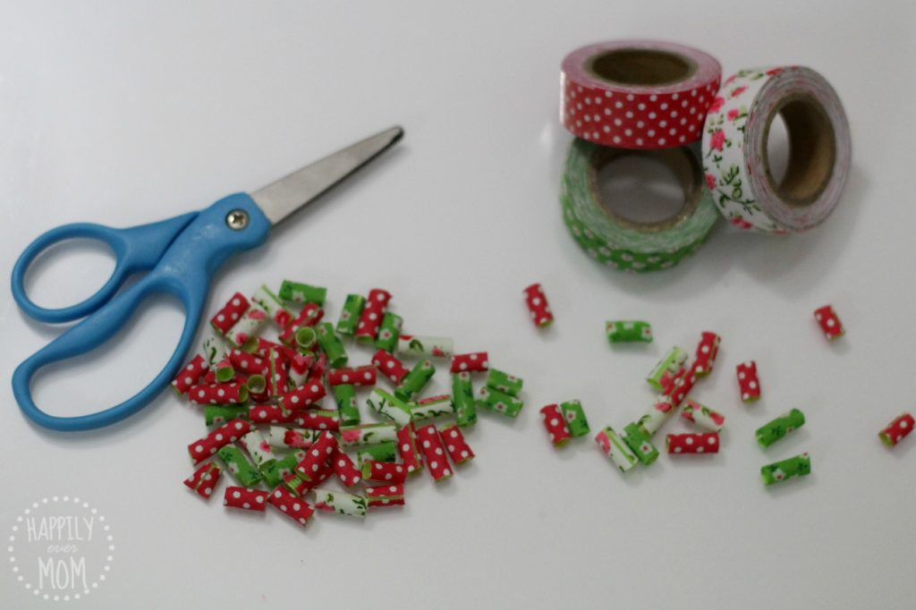 Make your own fabric tape beads