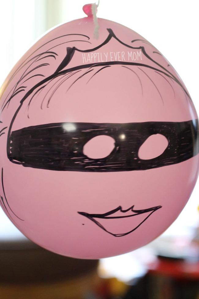 Ninja Princess balloon