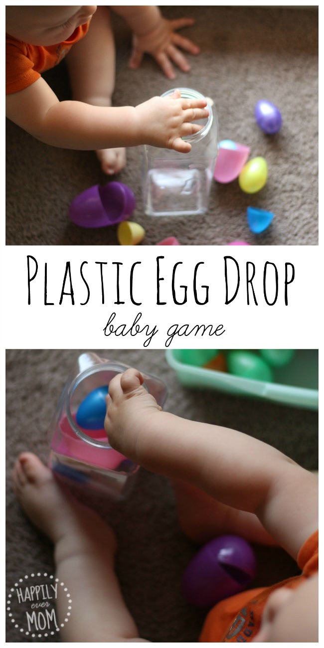 Plastic Egg Drop Baby Game