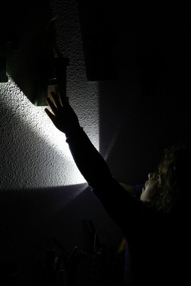scavenger hunt at night