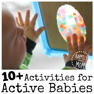 10+ {Active} Activities for Babies