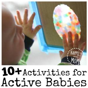 10+ {Active} Activities for Babies