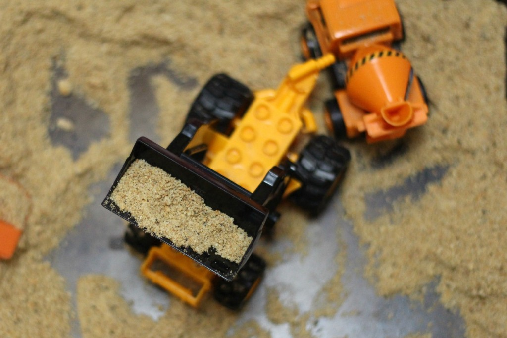 Edible sand for baby