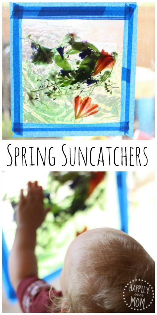 Spring Suncatchers that you can make with natural materials