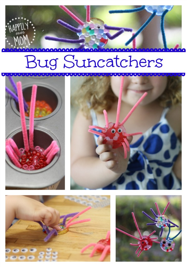 Adorable Bug Pony Bead Suncatchers