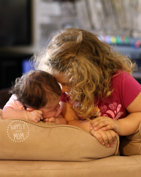 Making baby part of the family with sibling relationships