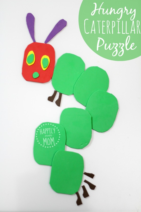 The Very Hungry Caterpillar activity