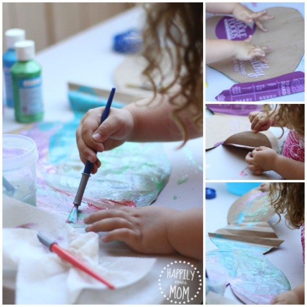 How to make wings for kids