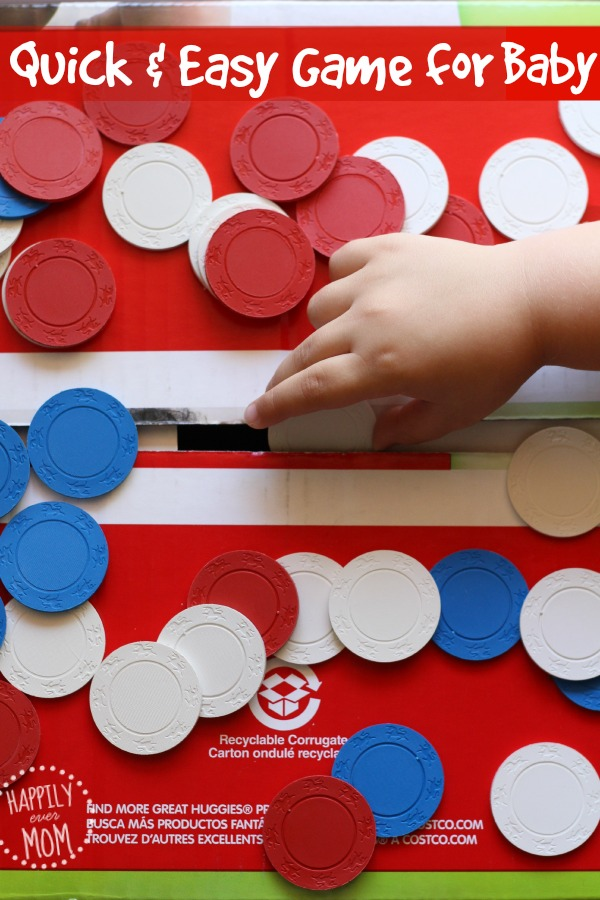 LOVE this simple baby activity ~ who knew this could be so entertaining?!