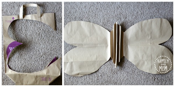 paper bag wings template