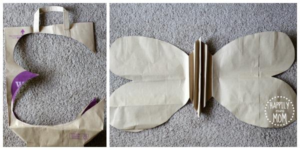 paper bag wings template