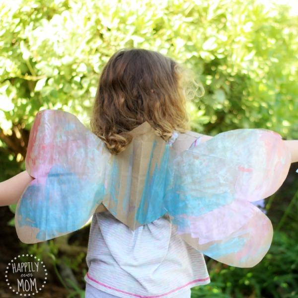 paper bag wings