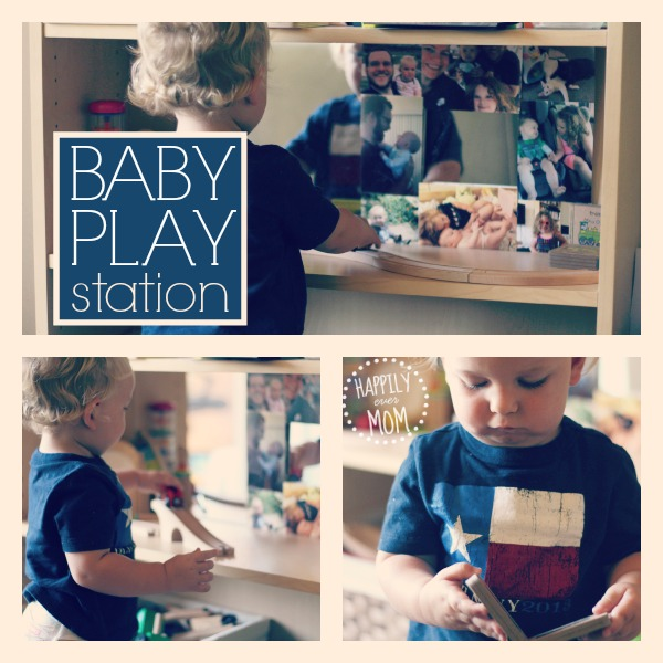 Make a simple baby play station