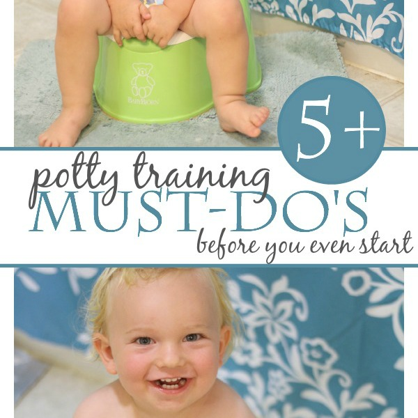 The 5 best potty training tips to set kids up for success. If you're potty training kids, you've got to read these!