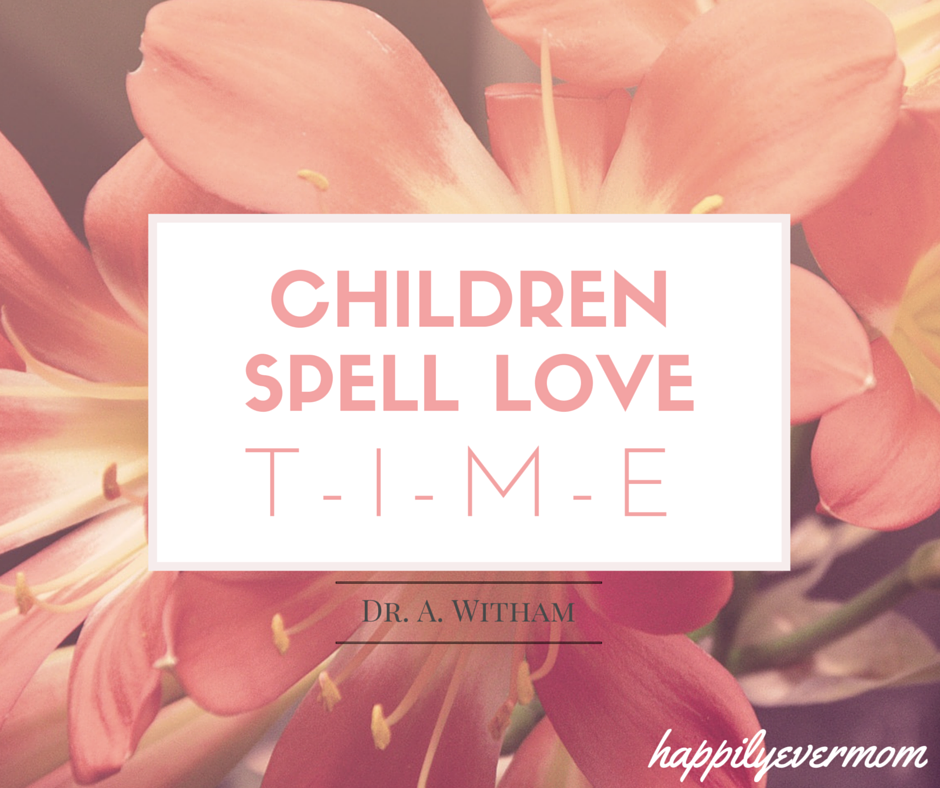 Childrenspell love...