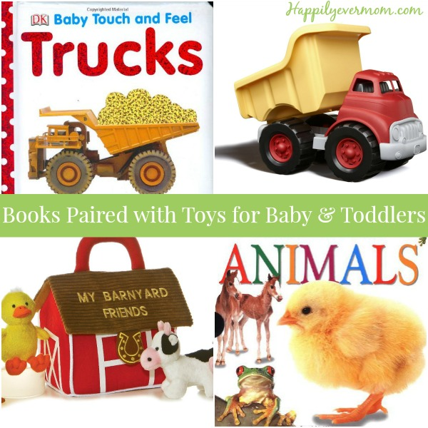 One year old gift ideas - books & toys with over 8 different themes!