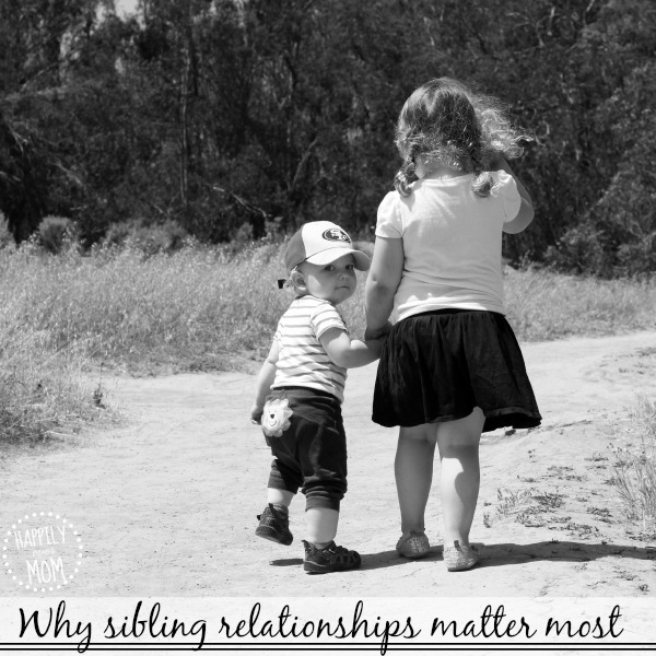 One simple reason why siblings relationships matter most
