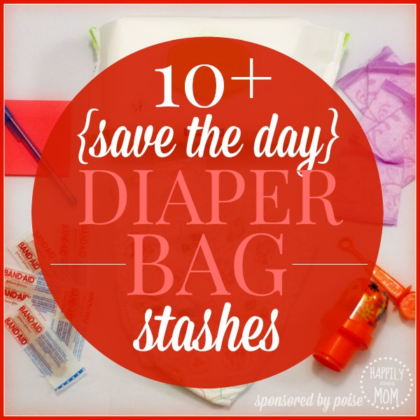 Diaper bag stashes you can't live without
