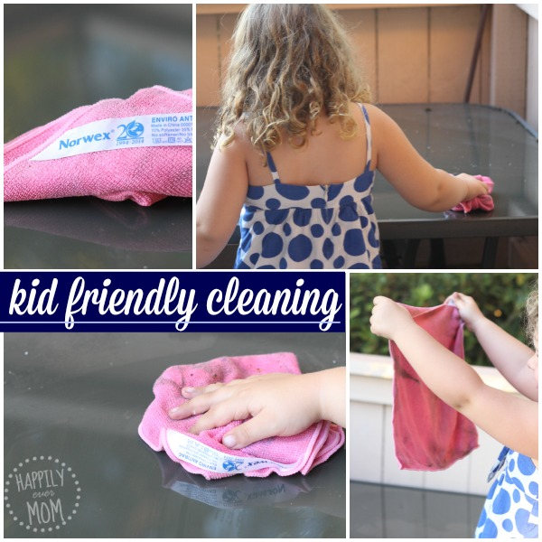 Kid friendly cleaning products