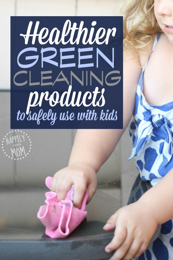 Cleaning products that are safe for kids to use <--- just add water!
