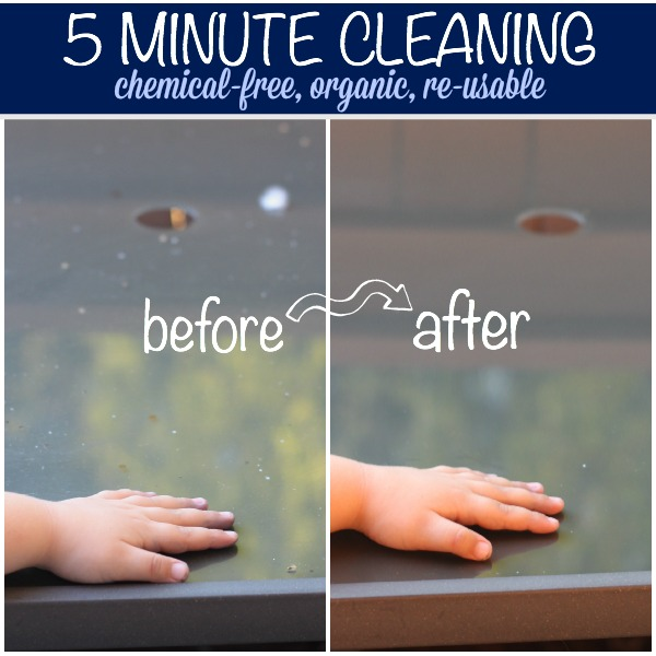 Cleaning products that kids can use - green, chemical-free, reusable!