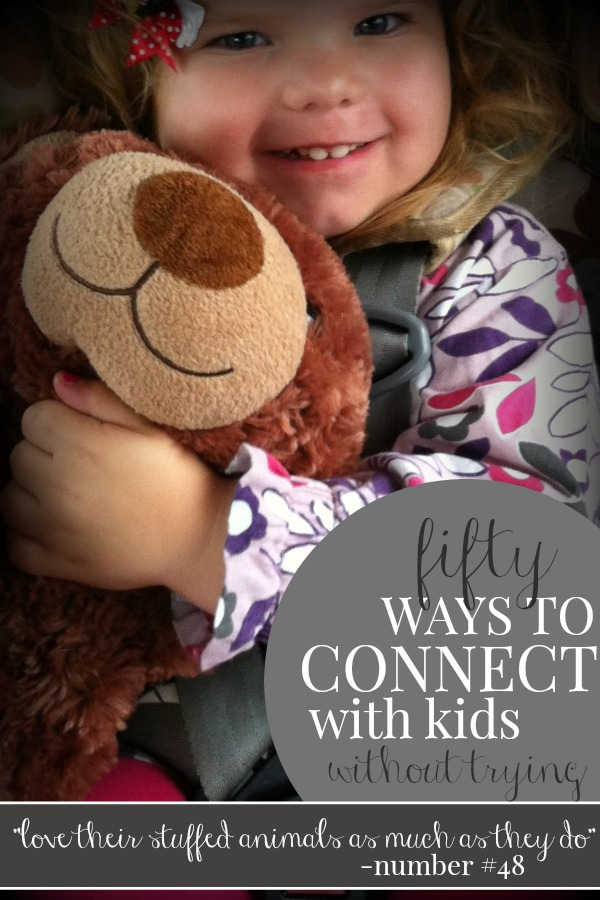 Simple and quick ways to connect with kids - this is a MUST pin because of the last two points.  So important.
