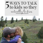5 Ways to Help Children Listen