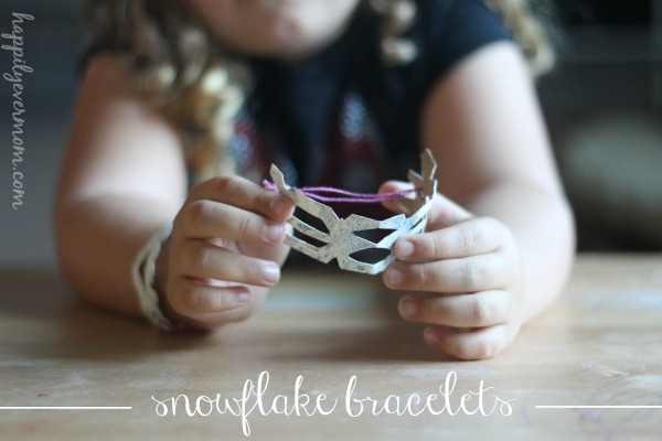 Frozen fans will LOVE these snowflake bracelets