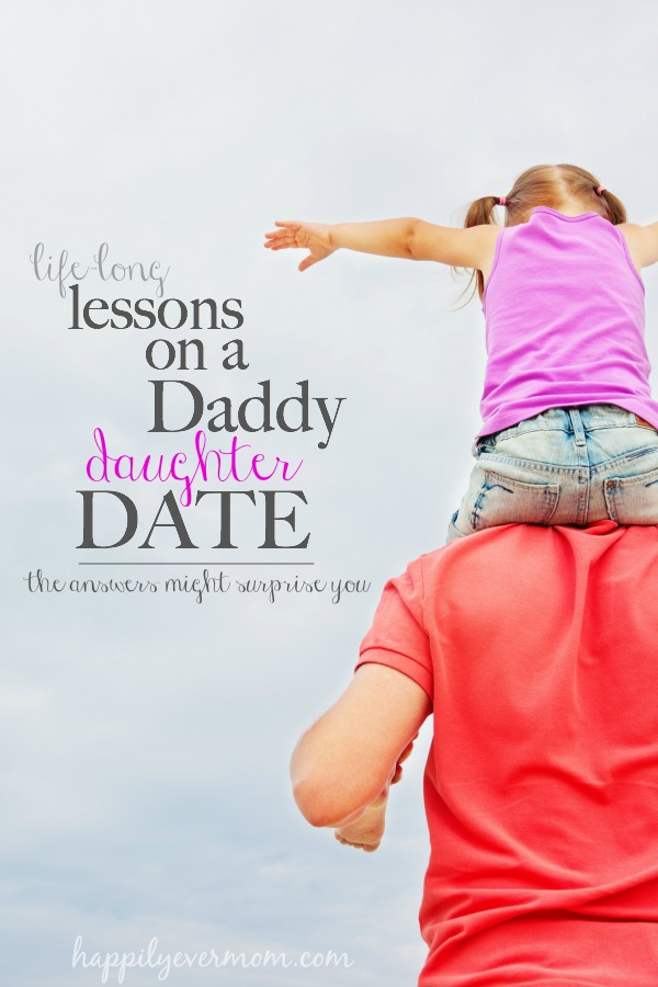 awesome tips on what to role model on daddy daughter dates.  It's not just about what you do on the date, but it's also about h...