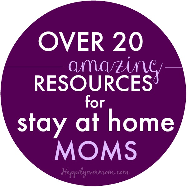 Awesome posts just for stay at home moms