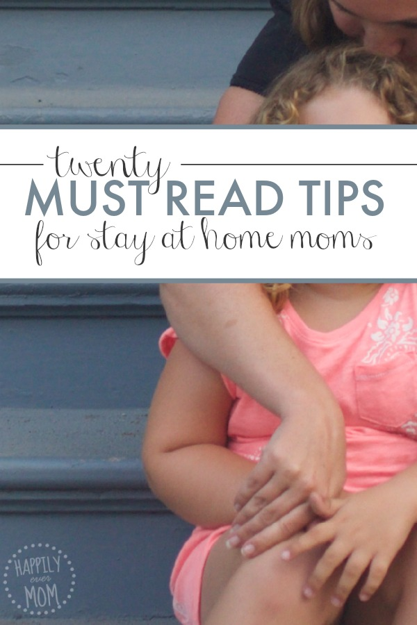 Such great posts for stay at home moms - from finances to making the choice to stay at home, there's a little bit of everything...