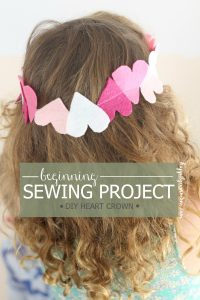 beginning-sewing-project-heart-crown